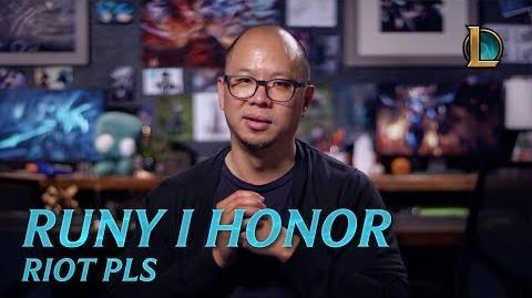 Riot Pls - Przekute runy i aktualizacja honoru