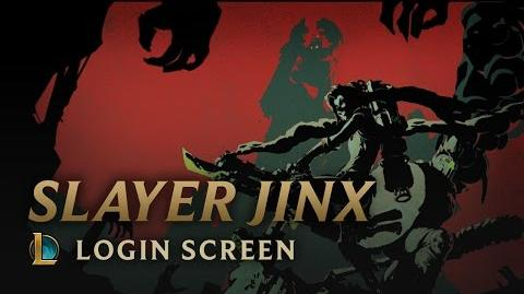 Slayer Jinx - Login Screen