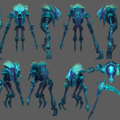 Spectral Fiddlesticks Update Model