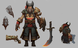Gangplank Classic Model Paintover
