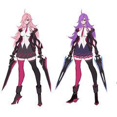 Battle Academia Katarina Concept 2 (by Riot Artist <a href=