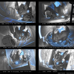 Hextech Kog'Maw Splash Concept 1 (by Riot Artist <a href=