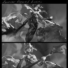 Lunar Empress Lux Splash Concept 1 (by Riot Artist <a href=