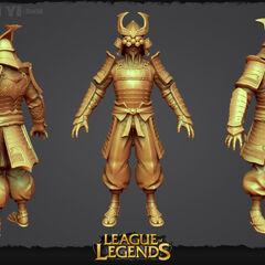 Samurai Yi Update Model 1 (by Riot Artists <a rel=