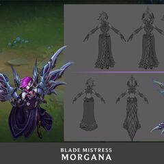 Blade Mistress Morgana Update Concept 2 (by Riot Artist <a href=