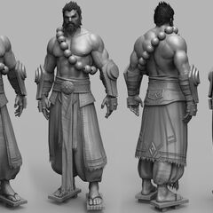 Spirit Guard Udyr Cinematic Model 5 (by Riot Artist <a rel=