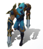 Zed Schockklingen-Zed (Aquamarin) M