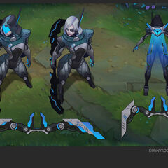 PROJECT: Ashe Concept (by Riot Artist <a href=