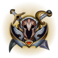 Conqueror of the League Emote.png