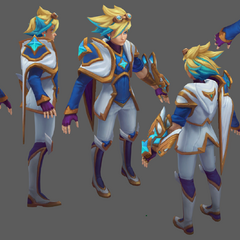 Star Guardian Ezreal Update Model
