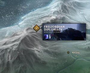 Frost-Troll Village map