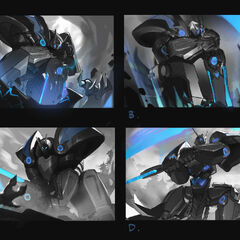 Mecha Kingdoms Garen Splash Concept (by Riot Contracted Artist <a rel=