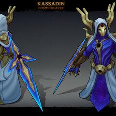 Cosmic Reaver Kassadin Model (by Riot Artist <a href=