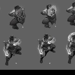 God Fist Lee Sin Concept 1 (by Riot Artist <a rel=