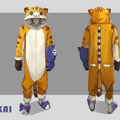 Meokai Onesie Concept 1 (by Riot Artist <a href=