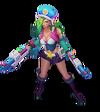 Miss Fortune Arcade-Miss Fortune (Aquamarin) M