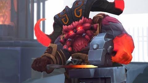 Ornn, Ogień z Wnętrza Góry - Zwiastun bohatera