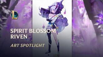 Seelenblumen-Riven - Seelenbande Art Spotlight League of Legends