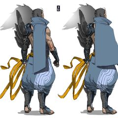 Yasuo Concept 4 (by Riot Artist <a rel=