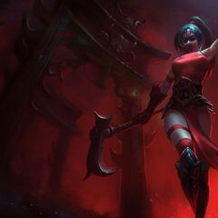 4th Crimson Akali (Blood Removed)