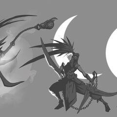 Concepto de la actualización de Akali 3 (por el artista de Riot, <a class=