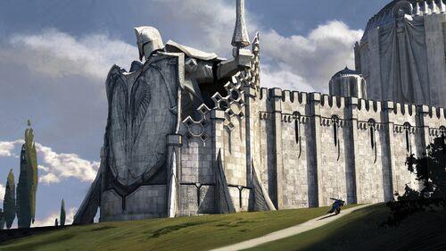 Demacia Temple Of The Lightbringers
