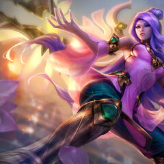 Order of the Lotus Irelia Splash Concept (by Riot Artist <a href=