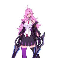 Battle Academia Katarina Concept 1 (by Riot Artist <a href=