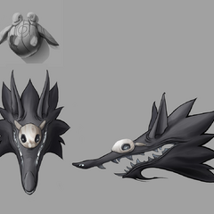 Kindred Wolf Head (by Riot Artist <a href=