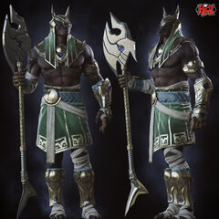 Nasus Call of Power Concept 5 (by Riot Artist <a rel=