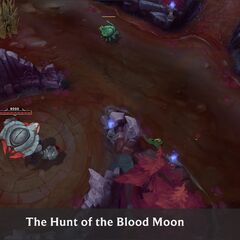 Summoner's Rift Blood Moon Concept 6 (by Riot Artist <a rel=