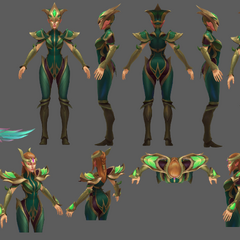 Viridian Kayle Update Model 2 (by Riot Artists <a href=