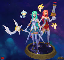 Miss Fortune Soraka Sternenwächter model 01