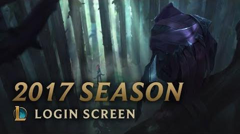 2017 Season - Login Screen