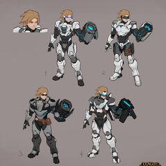 Pulsefire Ezreal Update Concept 2 (by Riot Artist <a href=