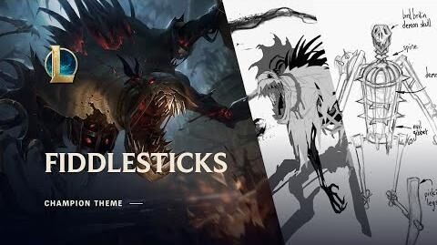 Fiddlesticks, The Ancient Fear - Login Screen