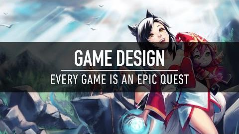 Game Design Every Game is an Epic Quest