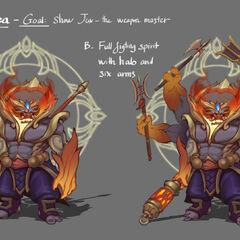 God Staff Jax Concept 2 (by Riot Artist <a href=