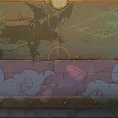 Jinx's Mayhem Board Concept (by Riot Artist <a rel=