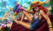Miss Fortune PoolPartySkin Unused