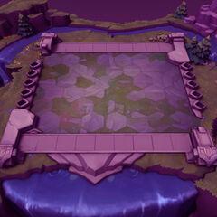 Mapa de misiones de Teamfight Tactics 2