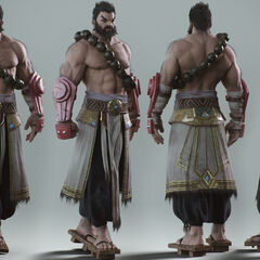 Spirit Guard Udyr Cinematic Model 8 (by Riot Artist <a rel=