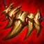 Colar de Presas (Vermelho) (20 Troféus) item