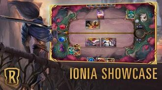 Ionia Region Showcase Gameplay - Legends of Runeterra