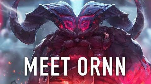 Meet Ornn, the Fire Below the Mountain League of Legends Champion Reveal