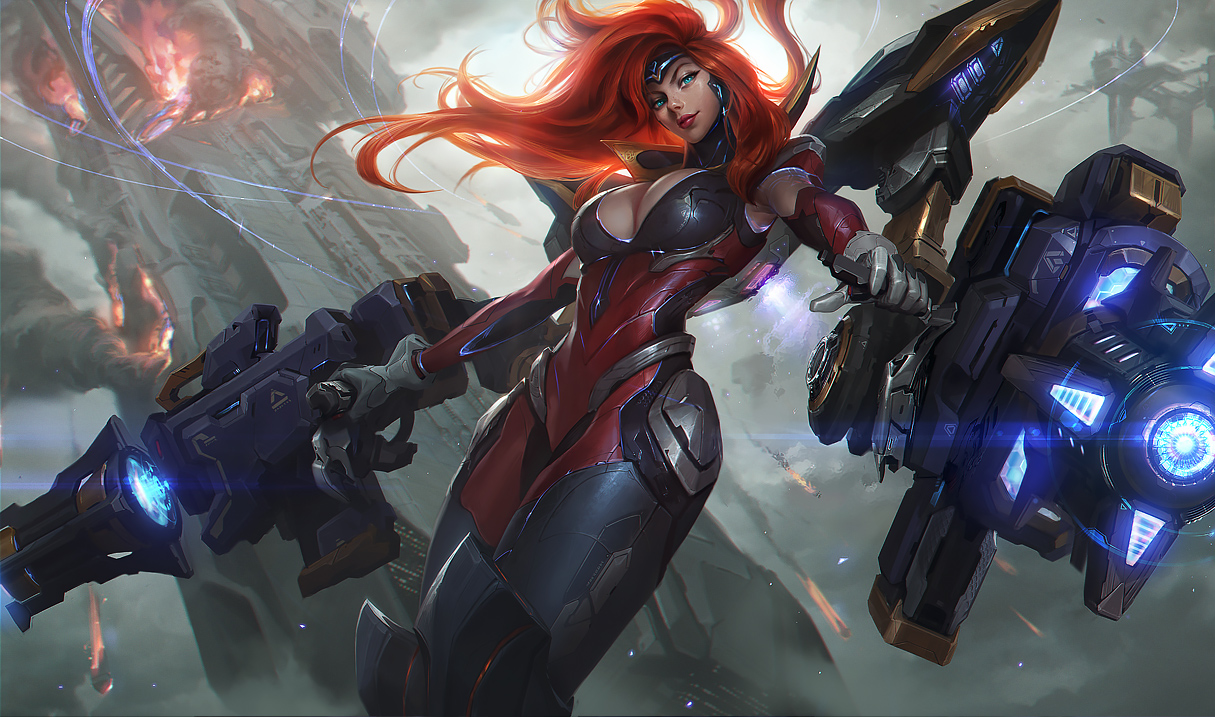 Miss Fortune Panzerwalküre Miss Fortune S