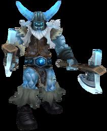 Olaf Glacial Render