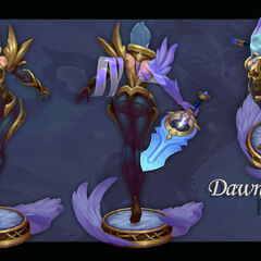 Dawnbringer Riven Model 3 (by Riot Artist <a href=