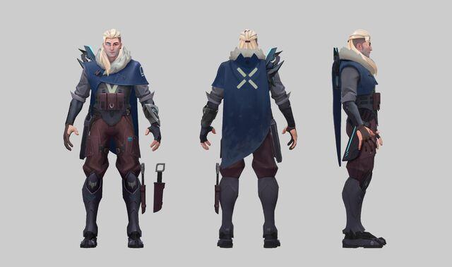 Sova Valorant Concept 01