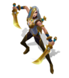 Katarina WarringKingdoms (Golden)